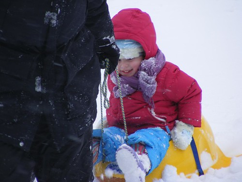 sledding, weeee!
