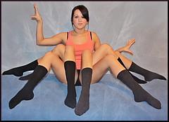 Spider (.:Amanda Michelle:.) Tags: selfportrait girl self canon spider web gimp explore 8legs