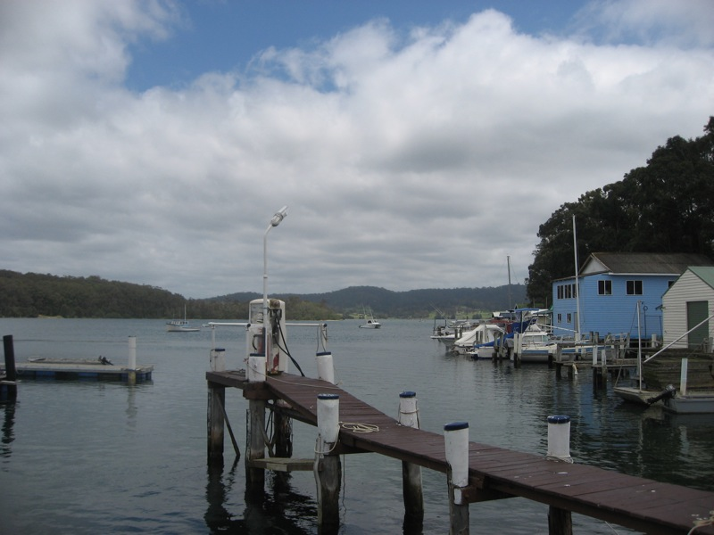 Narooma, view from restaurant