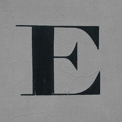 letter E (Leo Reynolds) Tags: canon eos iso400 f10 e letter oneletter 30d eee 38mm 0003sec 0ev hpexif grouponeletter letterblack xsquarex xleol30x xratio1x1x xxx2008xxx