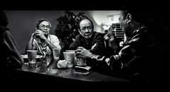 The Meeting (isayx3) Tags: white black men vietnamese angle wide meeting 28 24mm d3 iso1600 24mmf28af challengeyouwinner