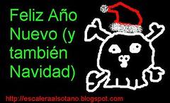 tarjeta navideña de Jocho