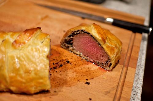 Christmas beef wellington | livefire