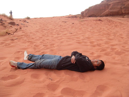 Day Dreaming at Wadi Rum, Jordan.