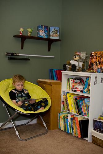 Alex's reading corner