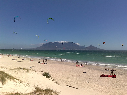 Kite Flying at Blouberg