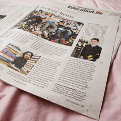 4/365 - New York Times by foreverdigital