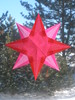 Pink And Red Window Star...an Early Valentine's Day Gift