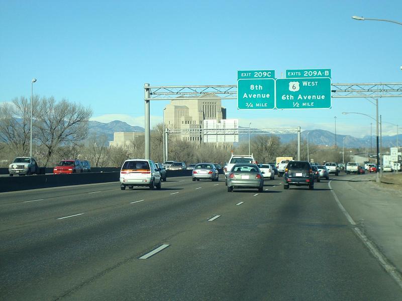 Denver Co Freeway Tour