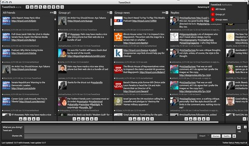 tweetdeck at the moment