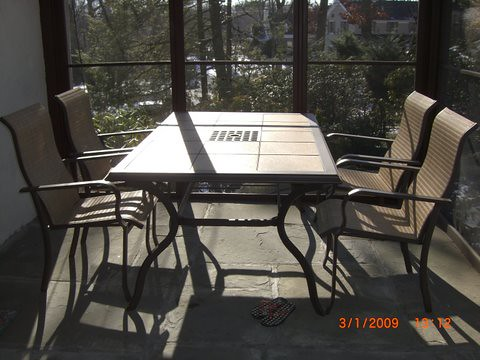 Patio Table and Chairs - SOLD