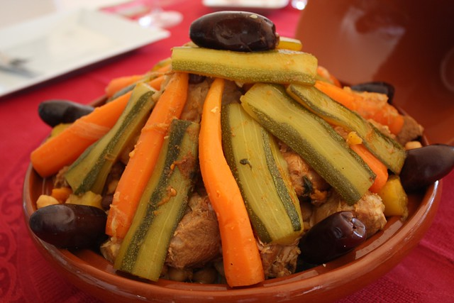 Cous Cous de Cordero y Verduras