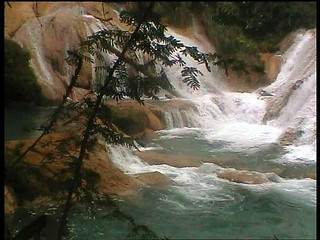 Mexico .Chiapas.Cascada 3
