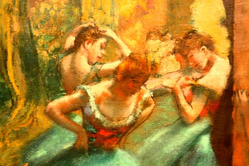 Degas Painting Photo by Frank K.