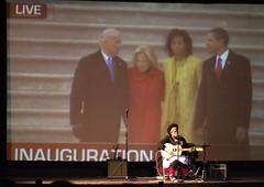 Kimya Sings in Obama
