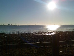 View of the Spinnaker Tower from Portchester (solearther) Tags: spinnaker portchester