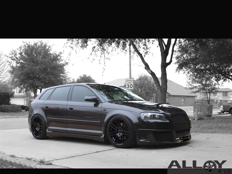 Audi A3 2008 >> Black RS4 Wheels | Audi-Sport.net