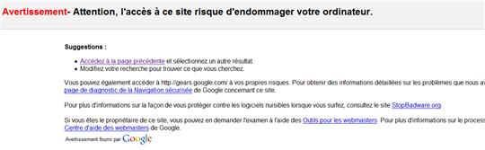 google interdit