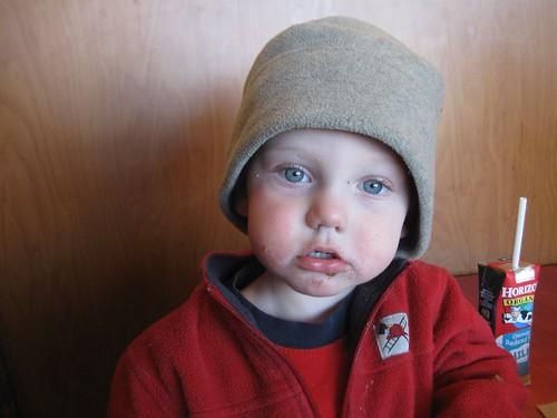 Charlie, Snowboarder hat