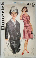 Vintage Butterick Pattern 2142 60s Womens Suit Seperates Size 14 with Shawl Collar Fitted Wasit and Wiggle Skirt (Sassy By Design) Tags: vintage clothing mod 60s flickr pattern sewing skirt womens suit international jacket etsy size14 shawlcollar bust34 wiggleskirt sassybydesign hip36 chest26