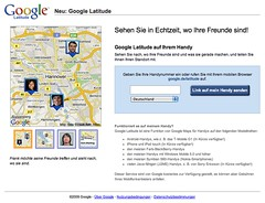 Google Latitude in Hannover