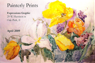 painterly prints