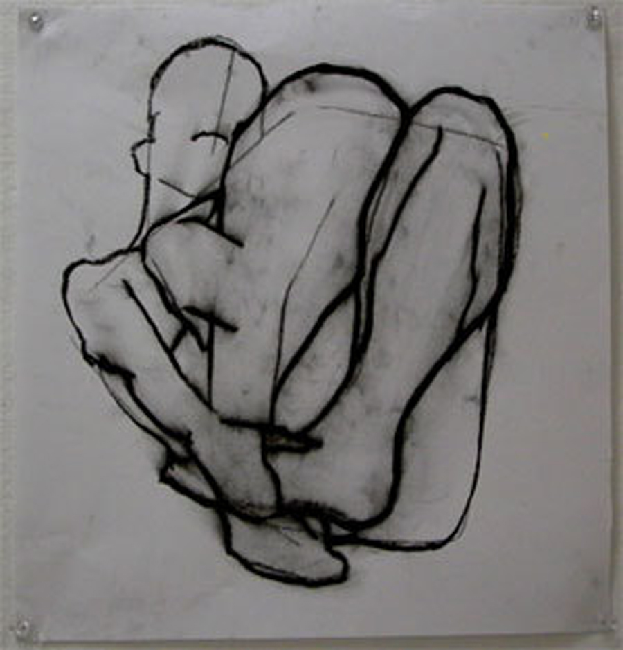 old life drawing from art college (2006)