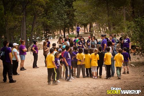 Visita al Centro de Recuperación del Valle - 2011