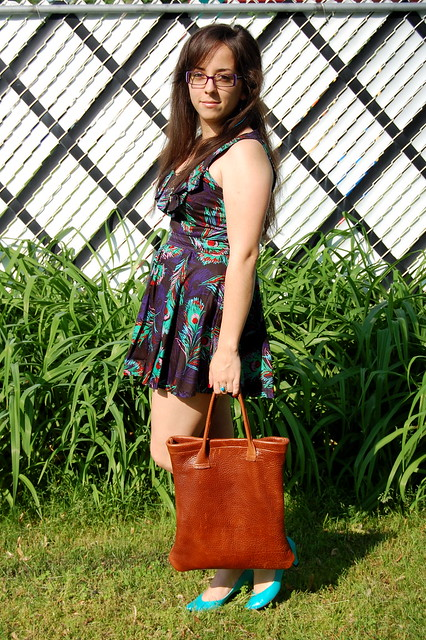 a wild tonic awildtonic May 24th daily outfit vintage fashion blogger blog