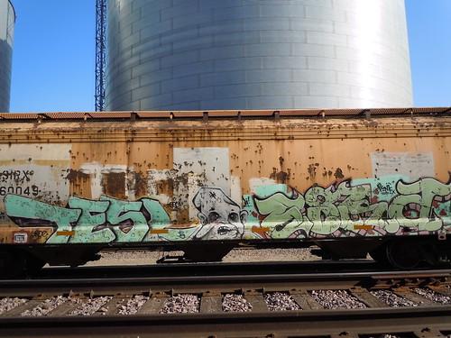 06-11-11 Rail Car Graffiti @ Renville, MN02