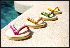 It's Five O'Clock Somewhere! - Front Page Explore! (BGDL) Tags: pool nikon florida flipflops manualfocus picnik coasters d80 lakewoodranch