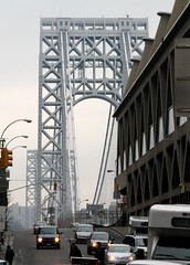 Manhattan Bridges (TravisGood) Tags: georgewashingtonbridge manhattanbridges
