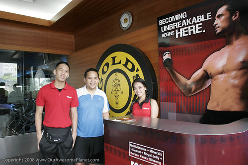 Rogin E and Gold's Gym contest