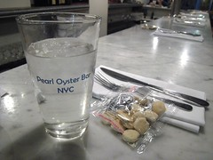 Oyster crackers, Pearl Oyster Bar