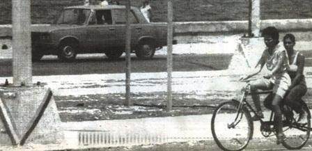 Ciclistas de La Habana. 1993