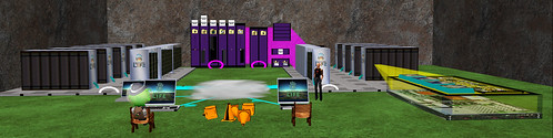 Second Life server system 3D, by Jopsy Pendragon