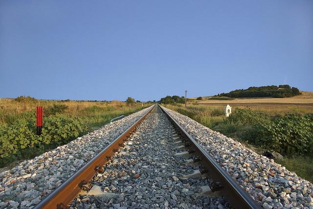 Fylakto - Γραμμές του Τρένου στο χωριό Φυλακτό Ν. Έβρου