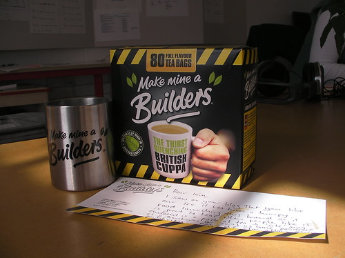 Make Mine A Builders (Tea)
