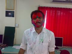 Amit , me (thecancerus) Tags: rangpanchami