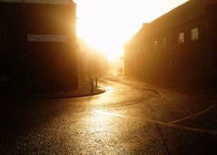 (dlemieux) Tags: uk morning light england sun streets color beautiful fog composition sunrise wow wonderful person hope town fantastic glow foggy bedfordshire dlemieux olympus scene explore dslr 2008 tones leightonbuzzard oldschooldigital