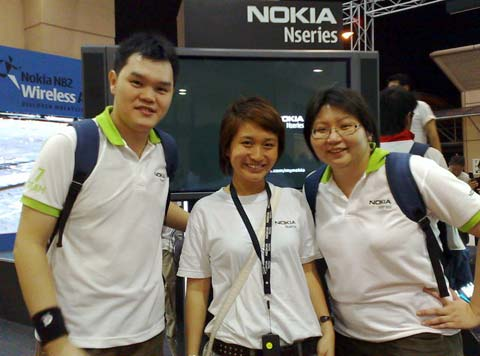 Nokia N82 Wireless Adventure II - Frankie, Andrea, Suanie