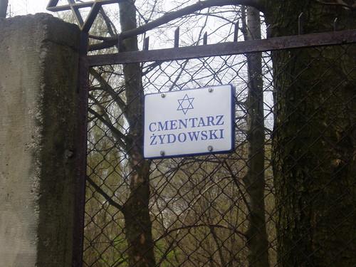 Jewish cemetery at Biecz