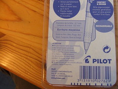 New Pen Warning. (francophony) Tags: warning pilot advertissement pilotfrixion frixion magicpens