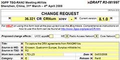 3GPP RAN2 LTE (Rel-8) CR R2-081997