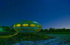 They're Here... (Noel Kerns) Tags: abandoned night site texas ufo landing munson futuro