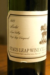1978 Stag's Leap Wine Cellars S.L.V. Merlot