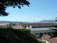Golden Gate Bridge and Fort Mason Photo
