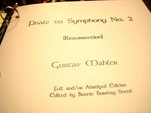 Mahler 2nd