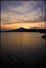 Sunset on Ballo Reservoir (bubz85) Tags: sunset water scotland fife hills glenrothes sigma1020mm lomondhills balloreservoir