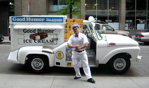 Vintage Good  Humor Truck by Adam Kuban.